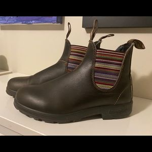 Multi stripe Stout Blundstone boots 9.5US=6.5AUS